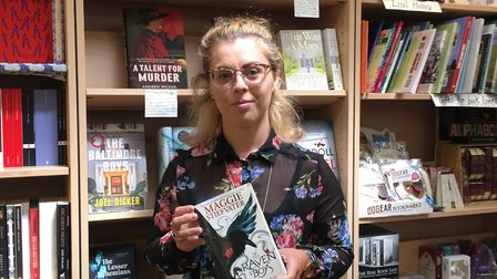 Christina Worby from Diss Publishing Bookshop. Picture: Sabrina Johnson