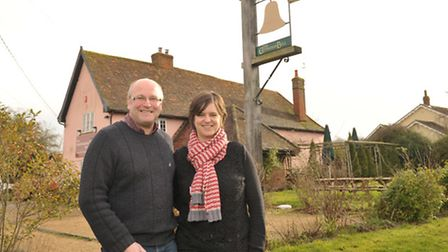Paul Hooper and Clare Forster are moving into the Cretingham Bell as the new landlords as part of t