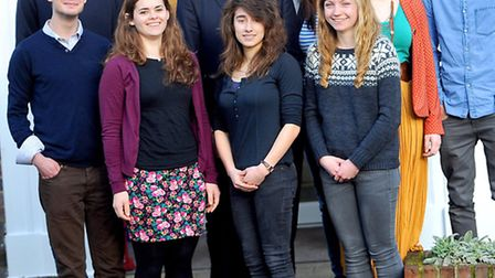 King Edward VI School celebrating a good Ofsted with an outstanding sixth form.