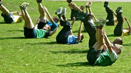 Bootcamp in Christchurch Park, Ipswich.. The Fitness Unit