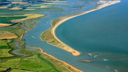 The Suffolk coast will face increasing threat from sea level rises, argues Asher Minns. Photo: M