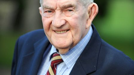 Roland Baker is a veteran of the Suffolk Regiment who was a prisoner of war in WWII and helped build