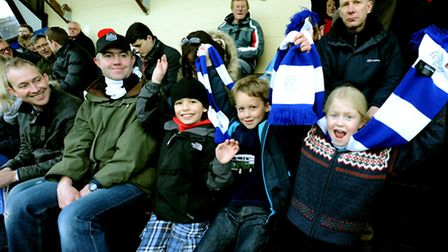 Bury Town entertain Thamesmead Town at Ram Meadow and battle to a scoreless draw. Family outing - S