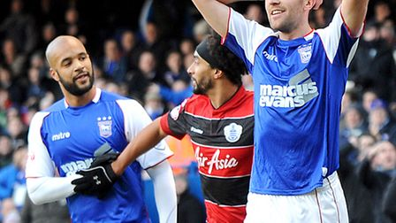 Cole Skuse (right) reacts after a decision goes against him on Saturday.