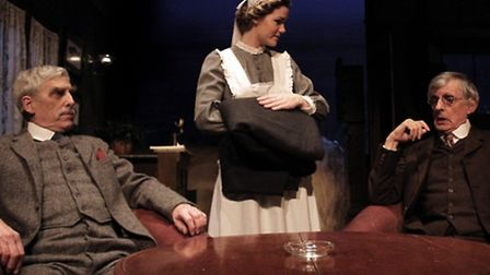 Classic Ghosts, an evening of Victorian ghost stories at the New Wolsey Theatre. Oh, Whistle and I'l