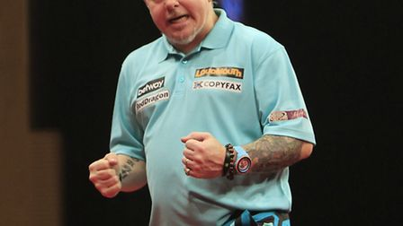 Peter 'Snakebite' Wright has enjoyed an unbeaten start to the Premier League Darts campaign