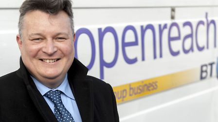Councillor Mark Bee, Suffolk County Council leader and chair of the Better Broadband for Suffolk pro