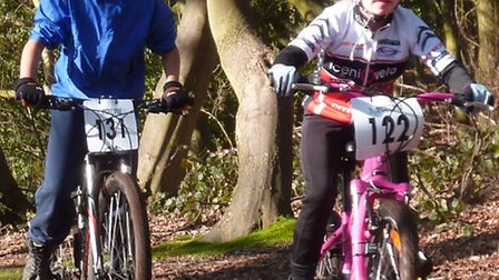 Cycling photos taken by FERGUS MUIR at the Five-by-Three MTB race sat Taverham Hall Ezra Levere
