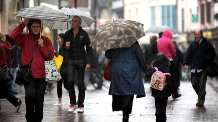 More blustery weather is set to come in Suffolk and Essex