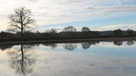 The Environment Agency has placed flood alerts on several Suffolk rivers