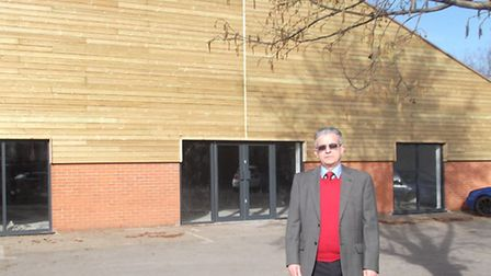 Mike Harper, outside his new furniture store, Harpers, which he is opening in Star Lane, Ipswich.