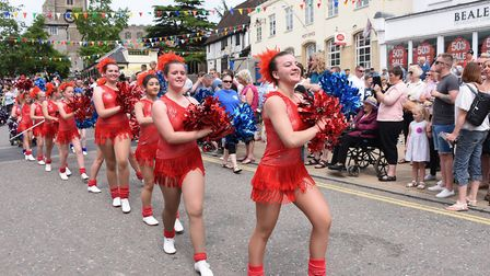 The Urban Allstars in the Diss Carnival 2017 procession. Picture: DENISE BRADLEY