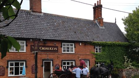 The CrossKeys Pub in Redgrave. Picture: Fiona Kenworthy