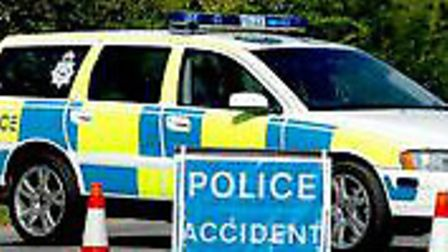 Police were called to reports of the accident near Wangford at around 1.50pm today.