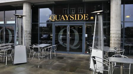 The Quayside bar and restaurant