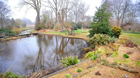 Fullers Mill Garden at West Stow, near Bury St Edmunds
