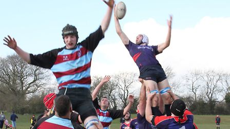 Haverhill's Hamish Stewart misses out in the line-out