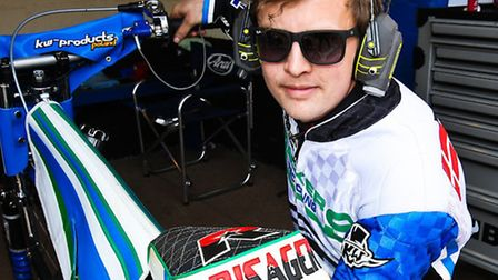 All systems go for Morten Risager