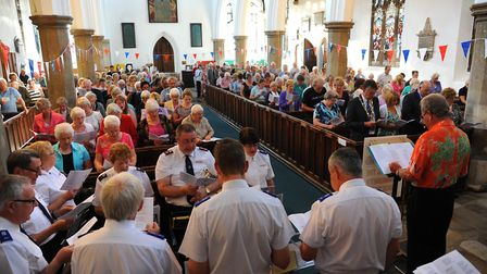 The Big Sing in Diss. Picture: SONYA DUNCAN
