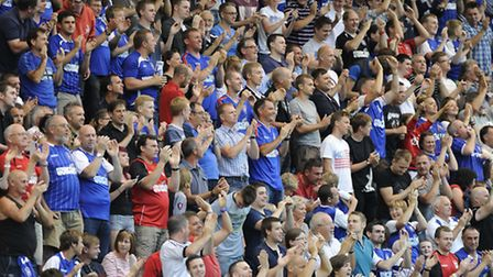 Ipswich Town supporters
