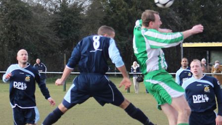 Action from the 2012 Suffolk FA Senior Cup semi-final, where Whitton triumphed 1-0