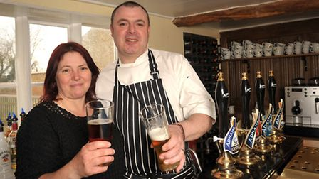 Garry and Teresa Cook are delighted to reopen The Crown at Snape. It has been closed since the begin