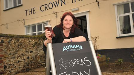 Garry and Teresa Cook are delighted to reopen The Crown at Snape.