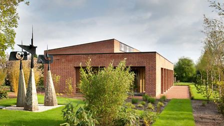 The Britten-Pears Foundation's archive building at the Red House, Aldeburgh.