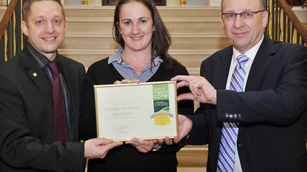 Jason Whittleton Sourced Locally Specialist East of England Co-op, Rebecca Whitehead of Lane Farm C