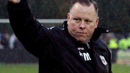 Movement at Needham: Mark Morsley has overseen a player departure and addition this week