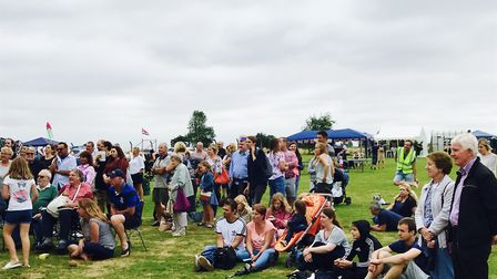 Visitors to Shelfhanger Village Fete. Picture: Aimee Easter