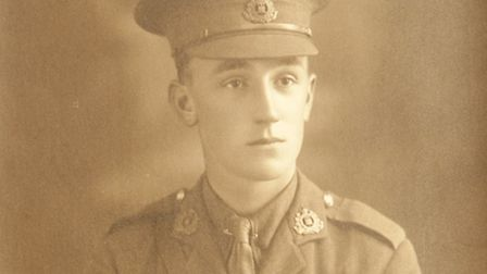 Lionel Baker. 'His disregard for danger was an example to all.'