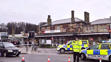 Traffic incident at Ipswich Station