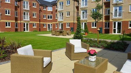 17/08/13 Sparkling open day at Booth Court, the latest McCarty & Stone development in Ipswich, Suffo