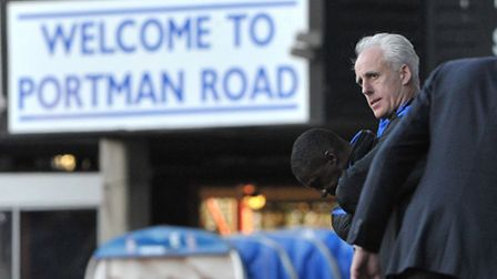 Ipswich Town manager Mick McCarthy