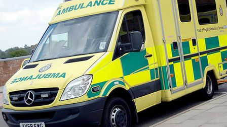 Sharon Field was taken to Addenbrookes by ambulance.