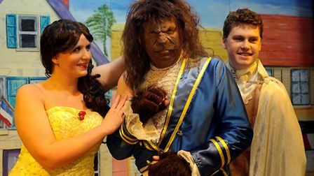 The Barton Players present Beauty and The Beast which opens at Great Barton Village Hall on Thursday