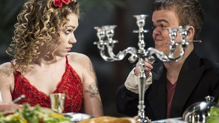 CiCi Howells and Ben Goffe in The Threepenny Opera. Picture: Patrick Baldwin