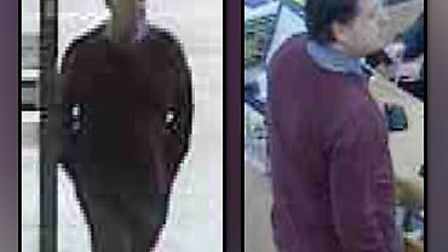 CCTV of a man police want to talk to in relation to the theft of a purse from a shop in Bury St Edmu