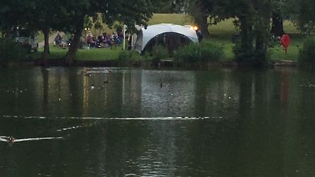 An evening of theatre at the Mere in Diss. Picture: Lucy Begbie