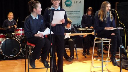 Alde Valley pupils took part in music workshops with industry experts and band members