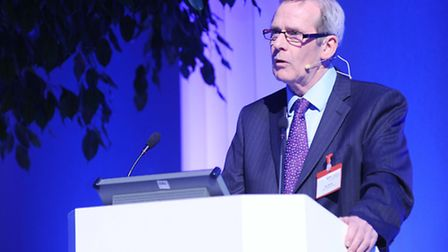 Ipswich Building Society chief executive Paul Winter who was among the speakers at the Health and W
