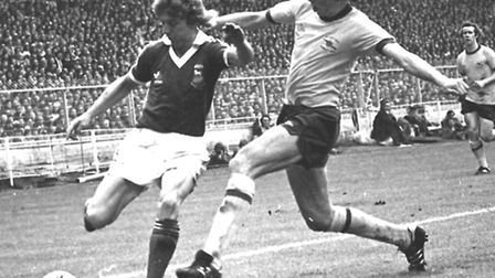 SPORT Ipswich Town v Arsenal FA Cup final 1978 Clive Woods NEG 61941 - 10a