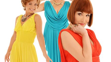 Dillie Keane Ad�le Anderson and Liza Pulman are ready to launch their Charm Offensive