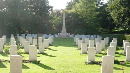 The Commonwealth War Graves Commission plot in Ipswich is a fine example of a UK war cemetery in the