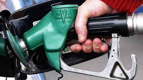 A petrol pump card machine has been tampered with. Photo: Danny Lawson/PA Wire ES 18.11.11