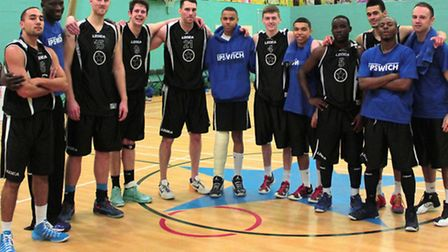 Ipswich Basketball Club's senior men will be looking to put on a show against Worcester on Sunday