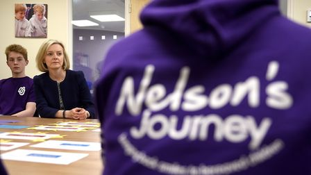 South West Norfolk MP and Justice Secretary Elizabeth Truss visiting Norfolk charity Nelson's Journe