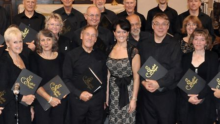 The Suffolk Singers is appealing for male voices.