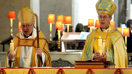 The Archbishop of Canterbury, Justin Welby launching the Centenary of the Diocese of St Edmundsbury